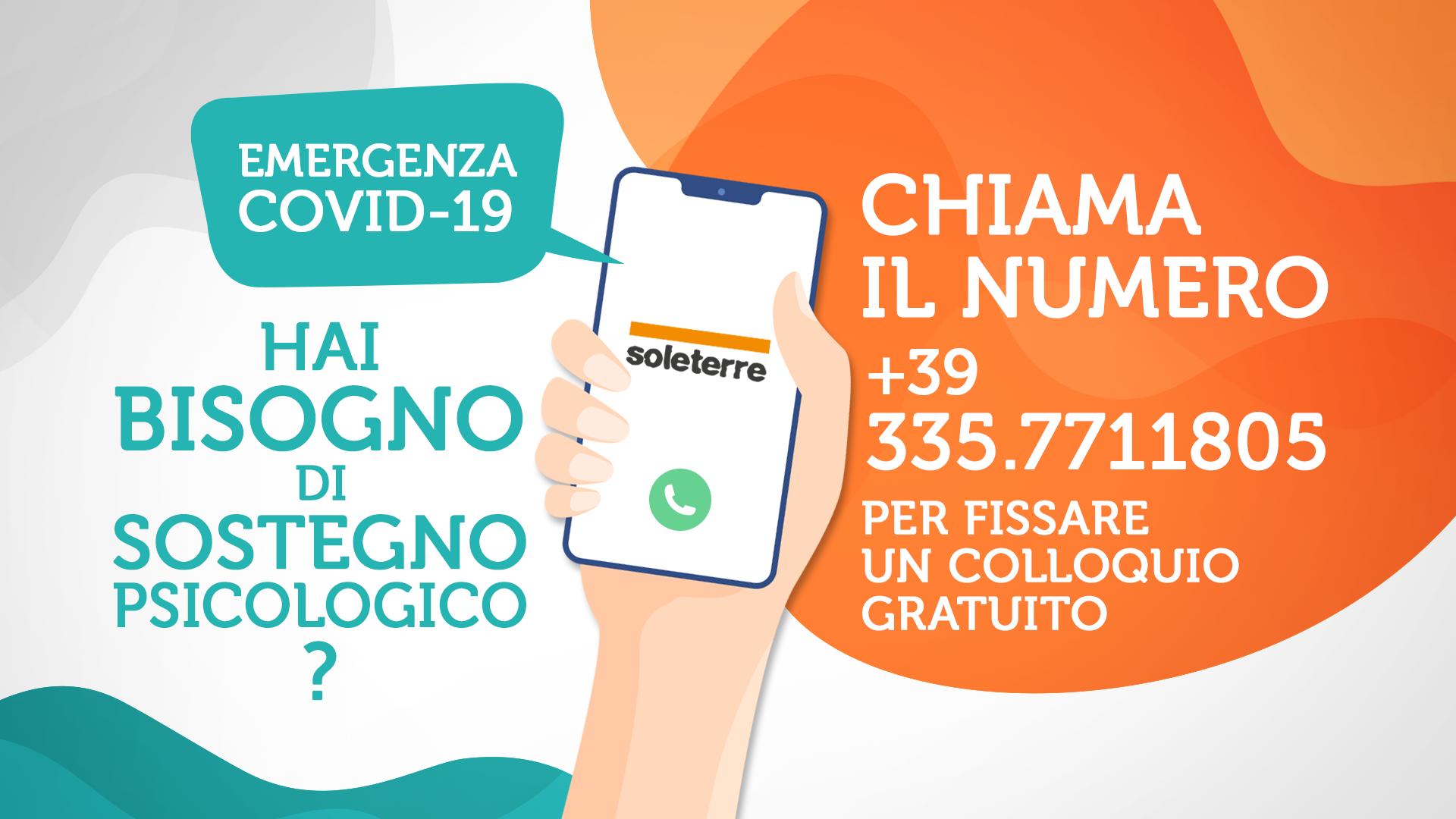 COVID-19: Pronti oltre 500 psicologi in tutta Italia per chi è in difficoltà